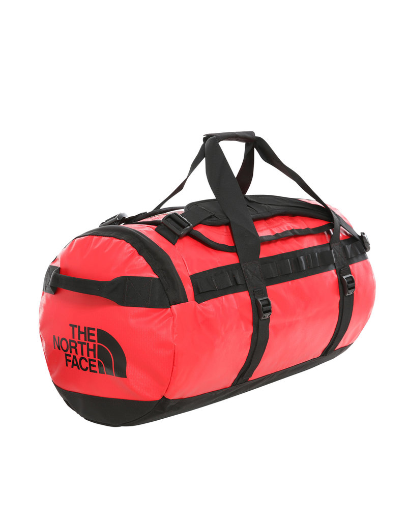 The North Face Base Camp Duffel Red Black M