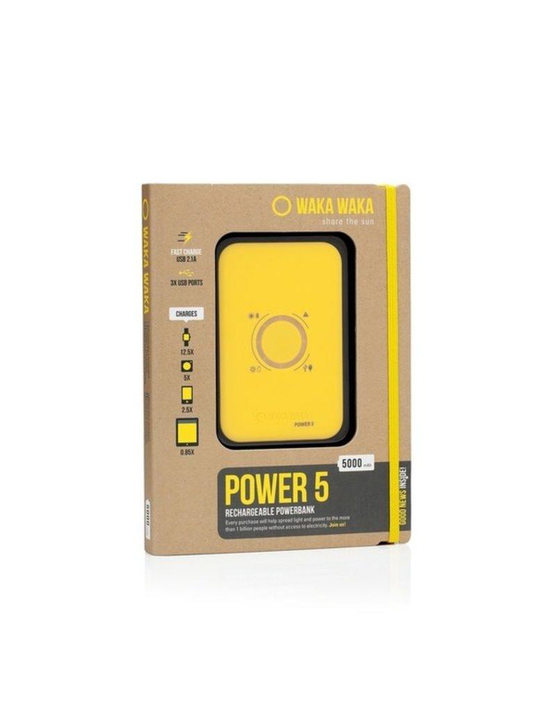 Waka Waka Power 5 Yellow