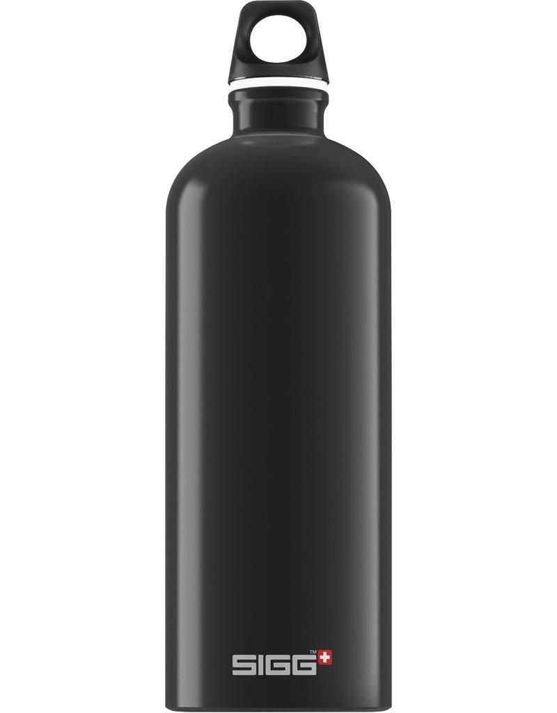 Sigg Traveller drinkfles 1L Black
