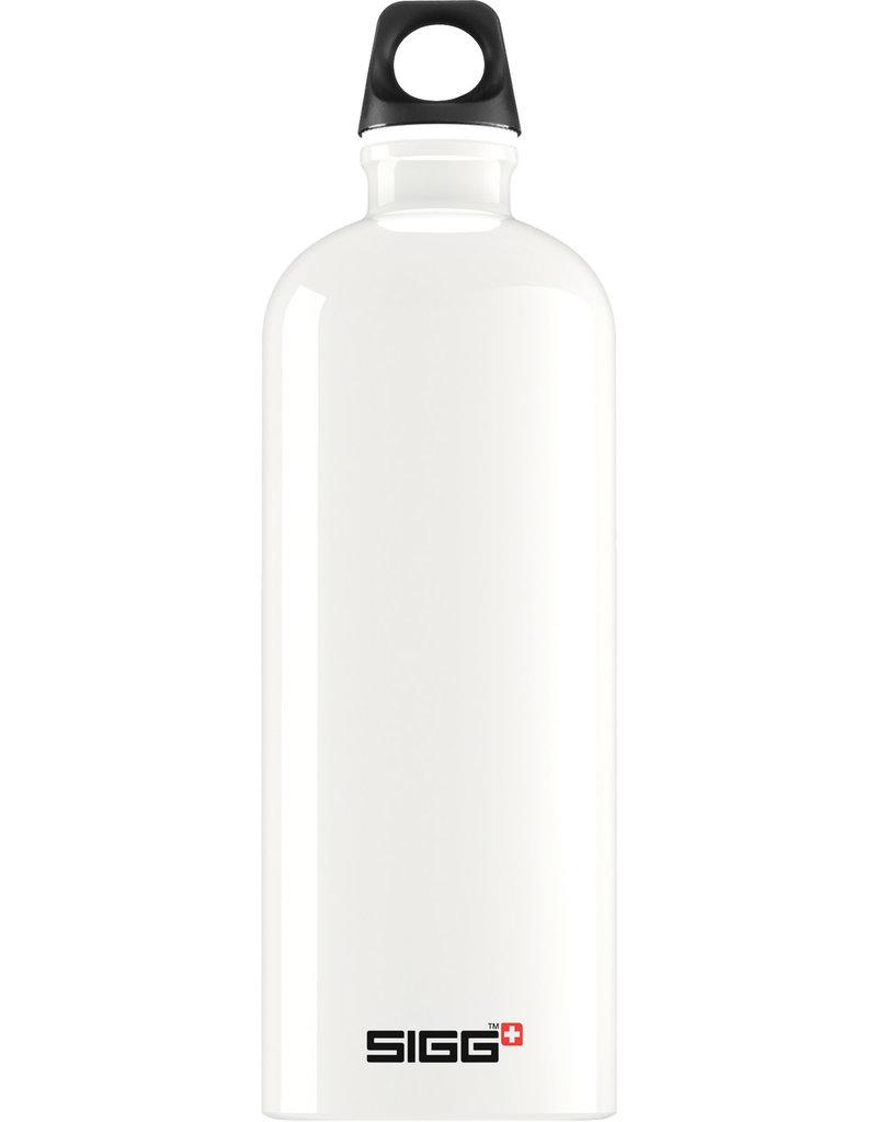 Sigg Traveller drinkfles White 1 L