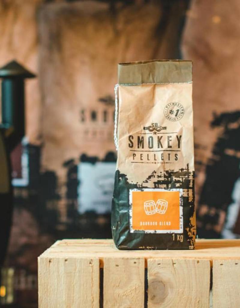 Smokey Bandit Pellet BBQ's Rookpellets Bourbon 1 kg zak
