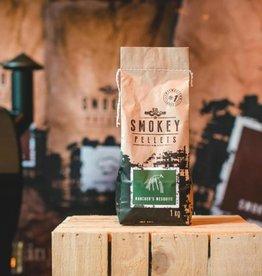Smokey Bandit Pellet BBQ's Rookpellets rancher mesquite 1kg