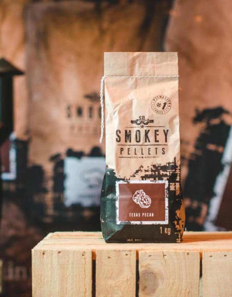 Smokey Bandit Pellet BBQ's Rookpellets Texas pecan  SB 1 kg zak