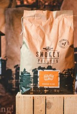 Smokey Bandit Pellet BBQ's Rookpellets  pellets SB bourbon blend 10kg