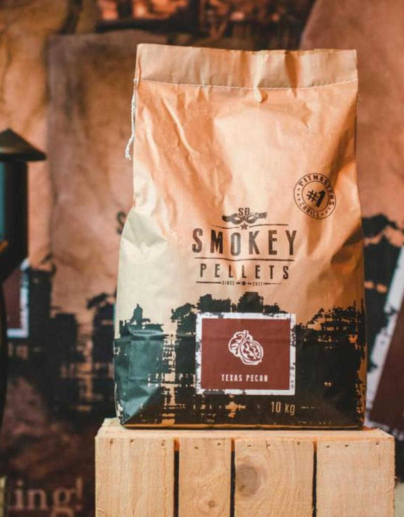 Smokey Bandit Pellet BBQ's Rookpellets pellets SB rancher Texas pecan 10kg