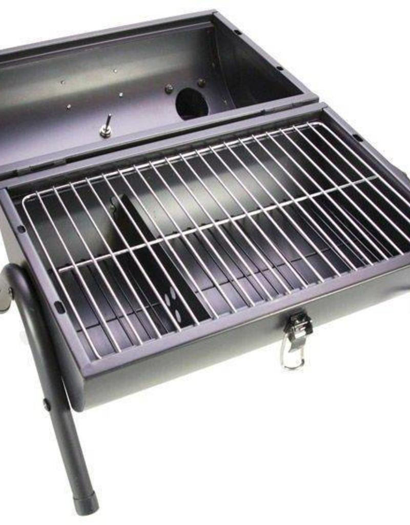 Grillin & Chillin Gusta BBQ King portable smoker zwart/groen