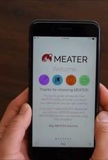 Meater De MEATER is 's werelds eerste volledig draadloze slimme vleesthermometer. Met behulp van de MEATER-app kun je de volledige controle over je eten krijgen!