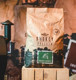 Smokey Bandit Pellet BBQ's Rookpellets pellets rancher mesquite 10kg
