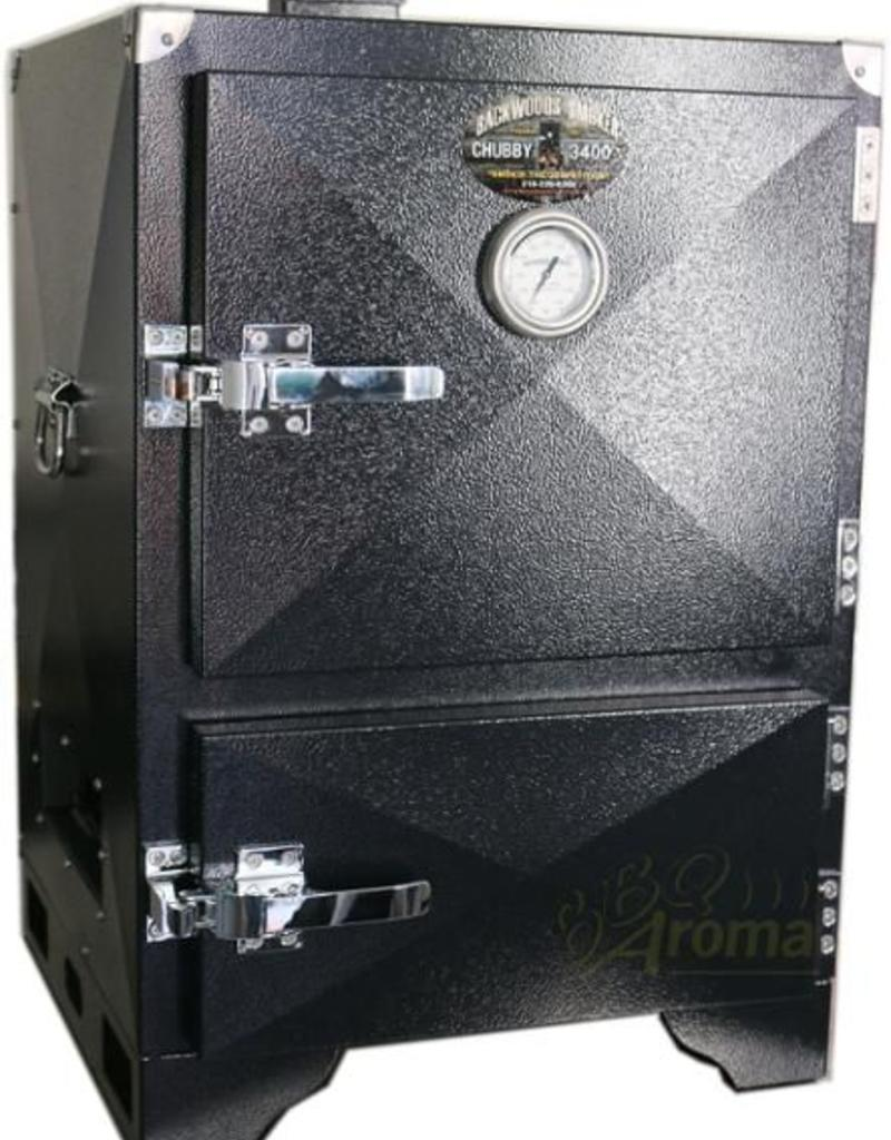 Backwoods Smoker Backwoods Chubby 3400 – competition grade reversed flow insulated cabinat smoker