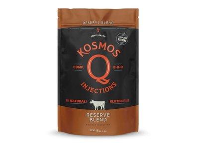 Kosmos Q - competition BBQ goods Kosmos Q Reserve blend brisket injection
