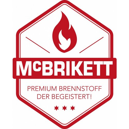 McBrikett Mc Brikett - kokos briketten cubes - 8kg