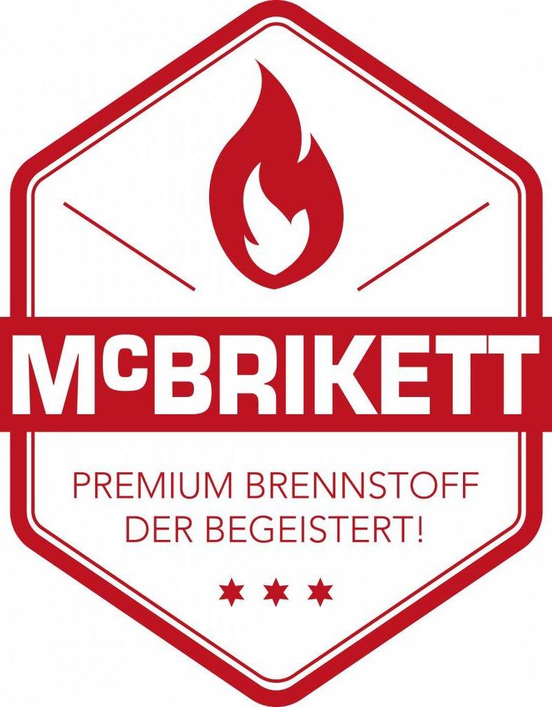 McBrikett Mc Brikett - bamboe briketten long - 10kg