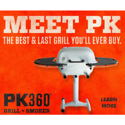 PK (Portable Kitchen) Grill PK Grills PK360 Silver & Graphite