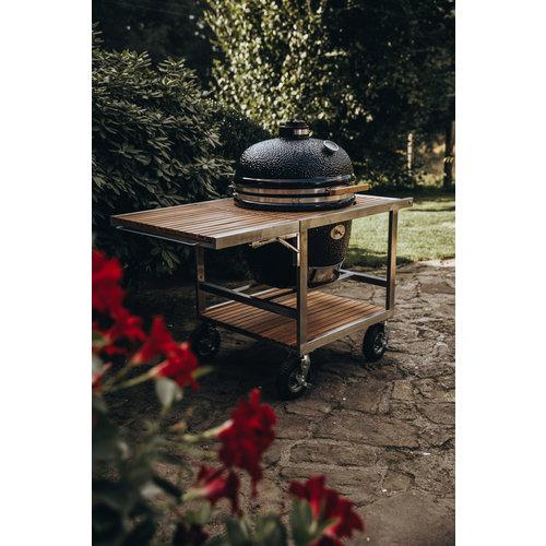 Monolith grills Buggy voor Monolith Le Chef (XL) modellen met luchtbanden en geveerde bodemplaat