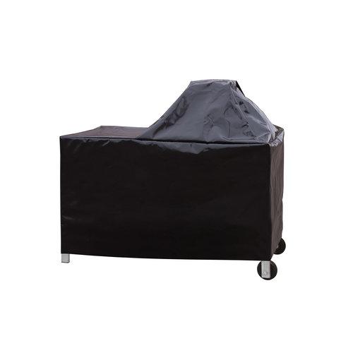 Monolith grills Verrijdbare RVS & Teakhouten tafel voor alle Monolith (XL) varianten