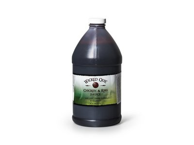 Wicked Que Wicked Que Chicken & Ribs sauce 1/2GL