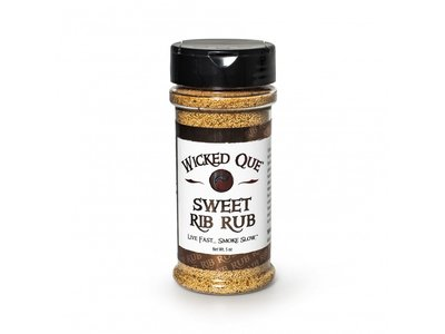 Wicked Que Wicked Que Sweet Rib Rub 141g