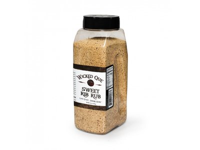 Wicked Que Wicked Que Sweet Rib Rub 708g