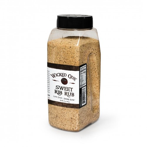 Wicked Que Wicked Que Sweet Rib Rub 708g / 25oz