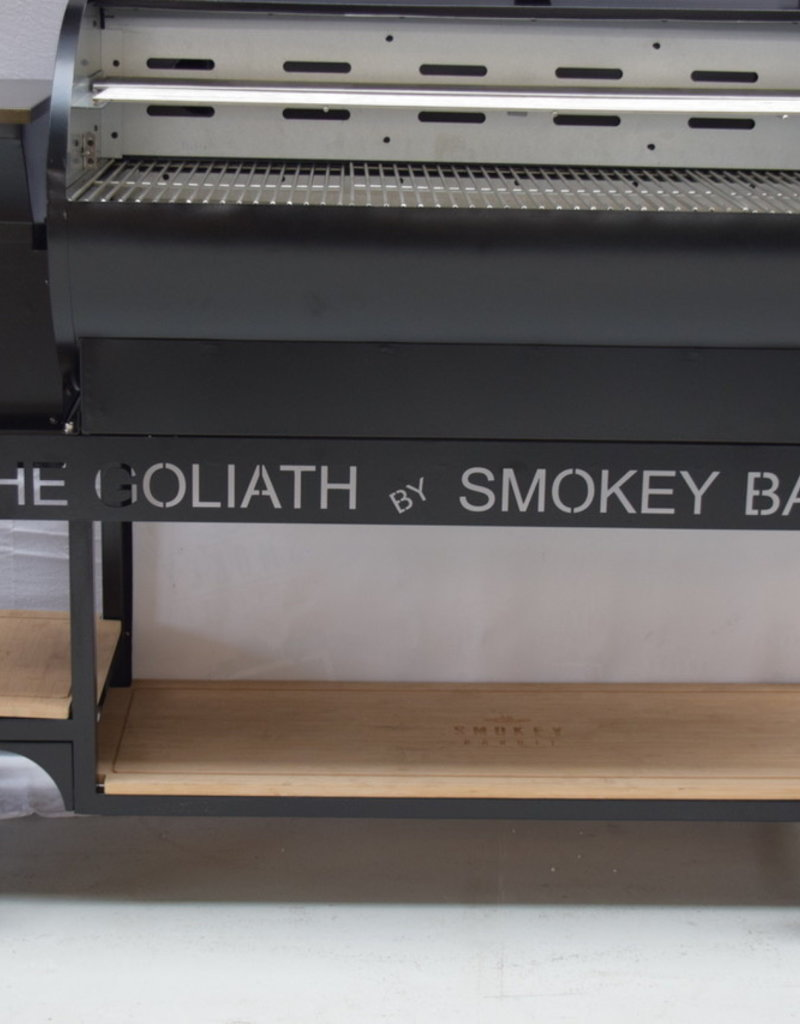 Smokey Bandit Pellet BBQ's Smokey Bandit The Goliath Pelletsmoker