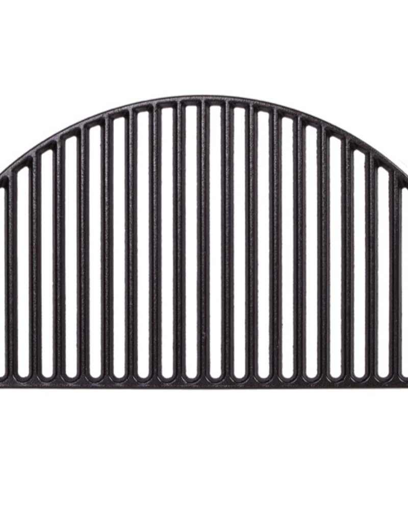Kamado Joe Half Moon Cast Iron Cooking Grate - Big Joe ®