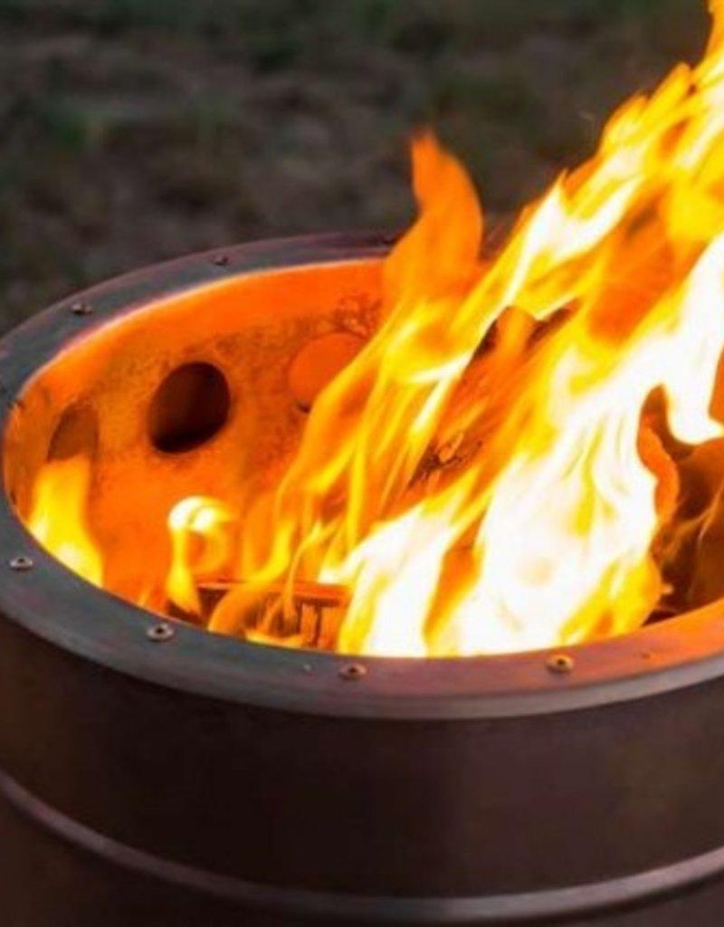 Feuerhand Feuerhand Pyron RVS stove vuurkorf met houtvergasser