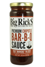 Big Rick's BBQ Sauces Big Ricks Premium Honey BAR-B-Q Sauce