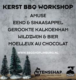 Kerstdiner BBQ workshop - 4 gangen