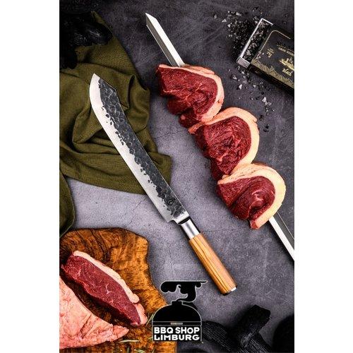 Forged Olive Forged Butcher knife 25 cm