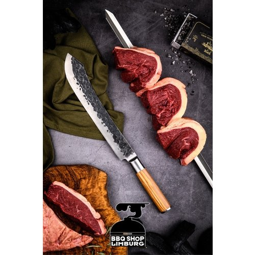 Forged Olive Forged Churrasco V-spies 50-60-70cm
