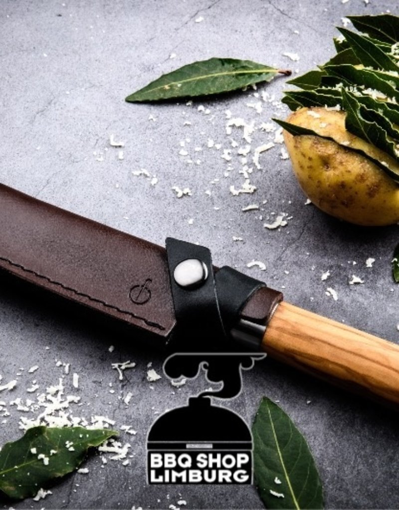 Forged Leather Forged Santoku 14cm Hoes