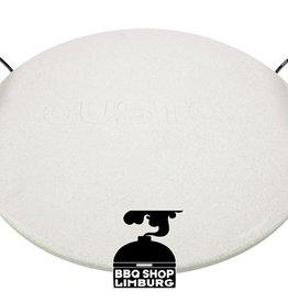 Gusta - Grillin & Chillin Gusta Pizzasteen met houder 33cm