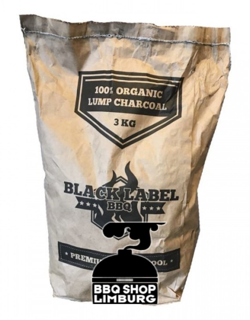 Black Label premium houtskool 3kg
