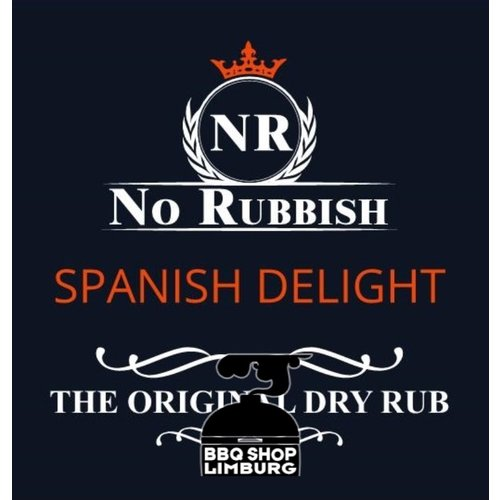 No Rubbish No Rubbish Spanish delight rub 225g