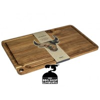 Grillin & Chilin Snijplank acacia hout 48.6x27.6x1.5 cm
