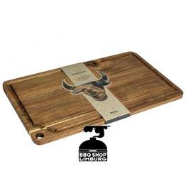 Gusta - Grillin & Chillin Grillin & Chilin Snijplank acacia hout 48.6x27.6x1.5 cm