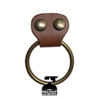 Xapron - metalen ring aan schort laten maken