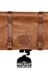 Xapron Xapron Lederen messen foudraal - 5/10 pockets Utah 45x87