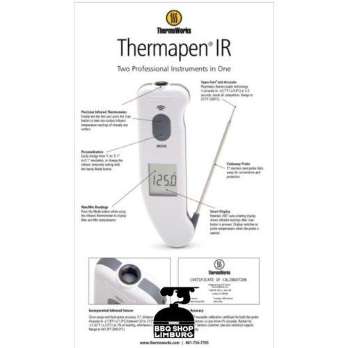 ETI Thermapen Superfast Thermapen  InfraRood – Wit