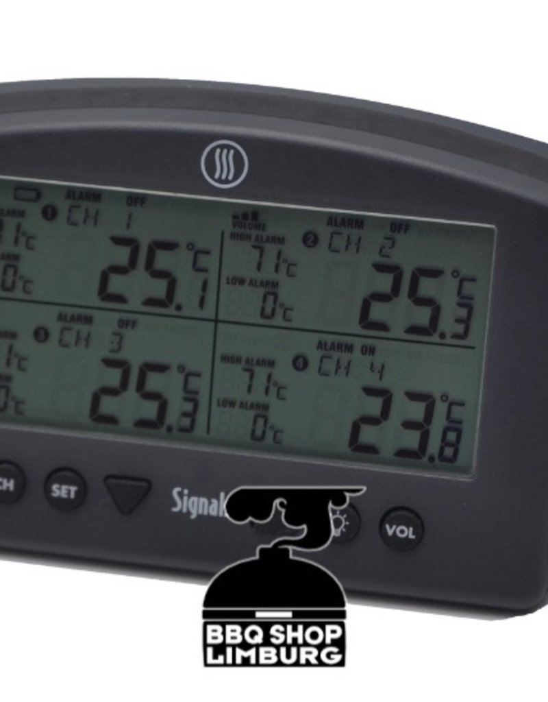 ETI Thermapen ThermoWorks Signals Wifi & BlueTooth Thermometer - 4 kanaals