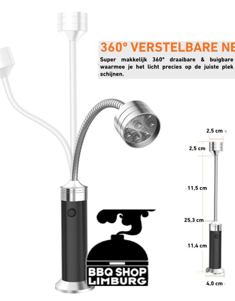 BBQ LED lamp magnetisch 360º draaibaar
