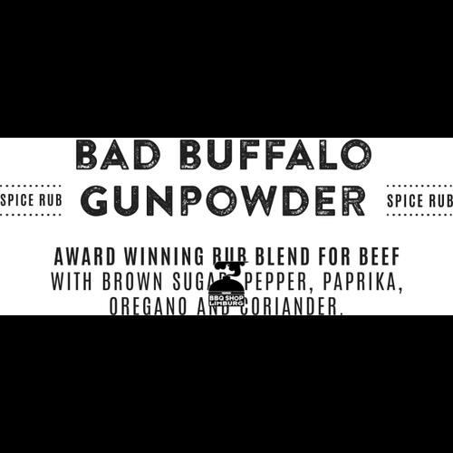 Rokende Règâhs Rokende Règâhs Bad Buffalo Gunpowder BBQ Rub 100g