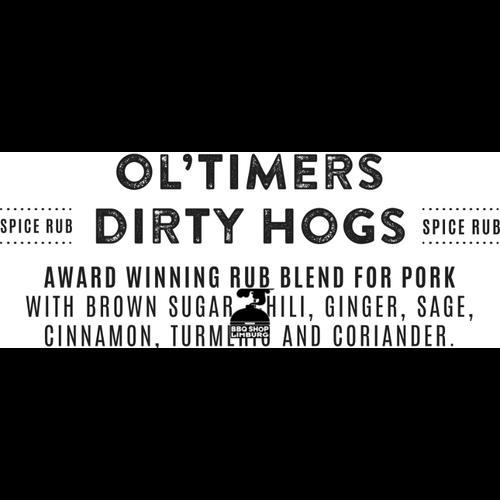 Rokende Règâhs Rokende Règâhs Ol'Timers Dirty Hogs BBQ Rub 300g