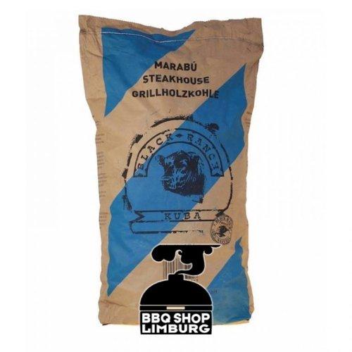 Black Ranch Black Ranch Houtskool 15 kg - Marabu Cuba