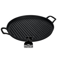 Gusta grill plancha gietijzer 30cm