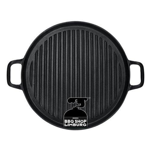 Gusta - Grillin & Chillin Gusta grill plancha grillpan cast iron gietijzer 30cm