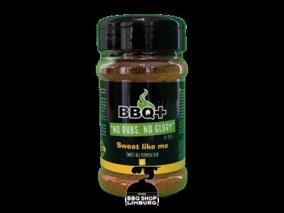 BBQ Plus BBQ+ Sweet like me BBQ rub 200g