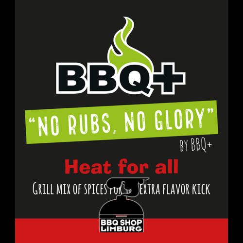 BBQ Plus BBQ+ Heat for all BBQ rub 200g