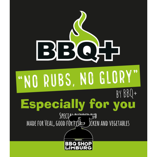 BBQ Plus BBQ+ Especially for you rub 200g