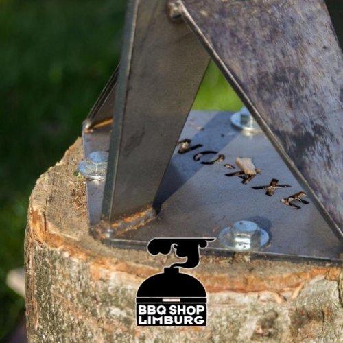 No-Axe NO-AXE houtklover van blank staal